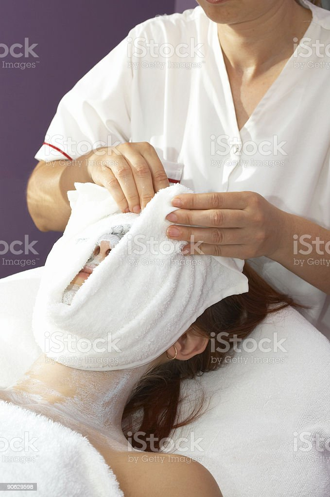 face theraphy royalty-free stock photo