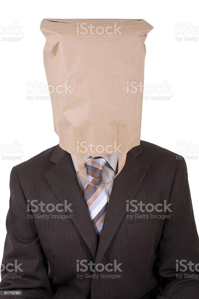 Корпоративная идентичность Faceless Стоковые фото Стоковая фотография