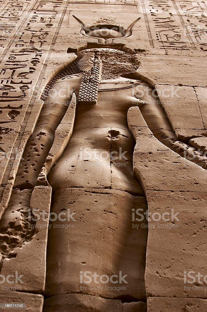 Faceless Goddess stock photo