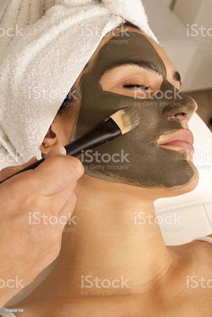 Facemask, mascarilla facial royalty-free stock photo
