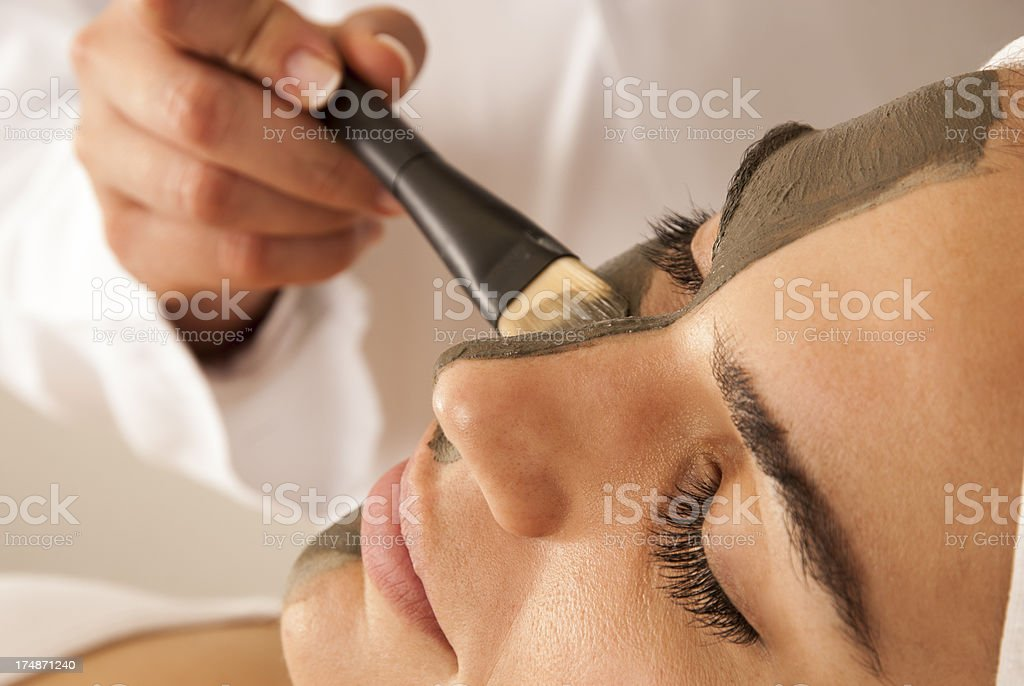 Facemask, mascarilla facial. royalty-free stock photo