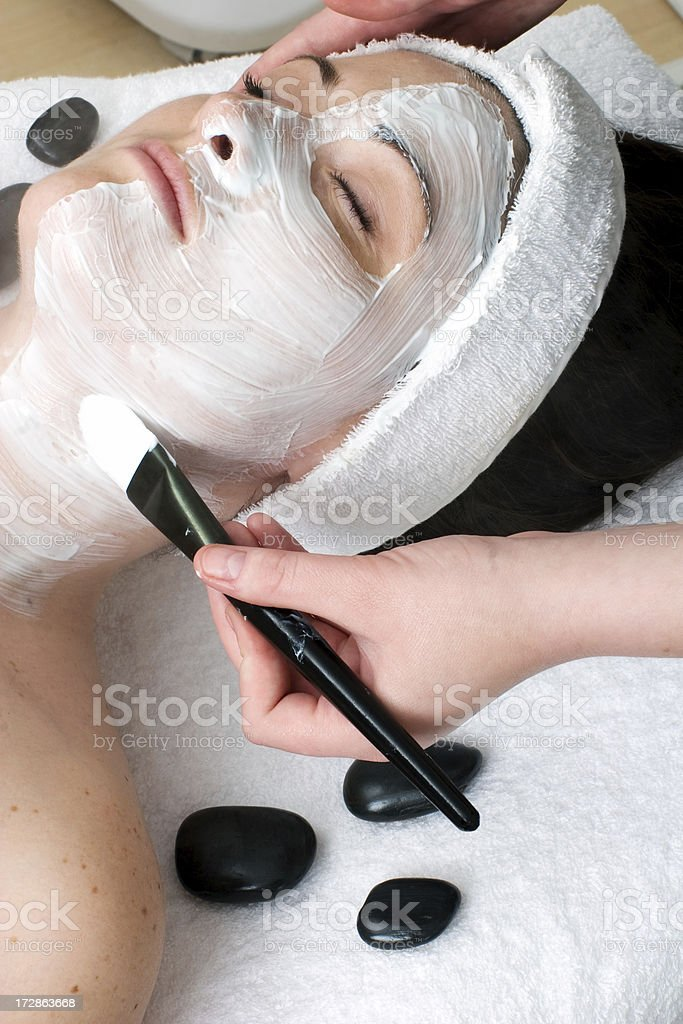 Facemask royalty-free stock photo