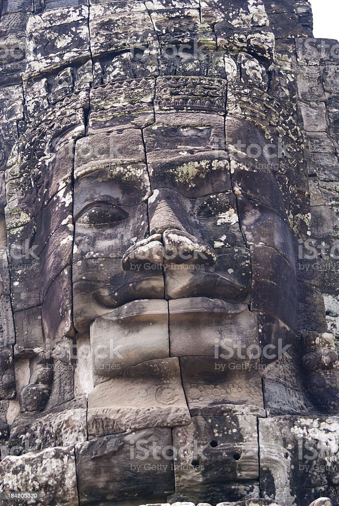 Faces of Cambodia royalty-free stock photo