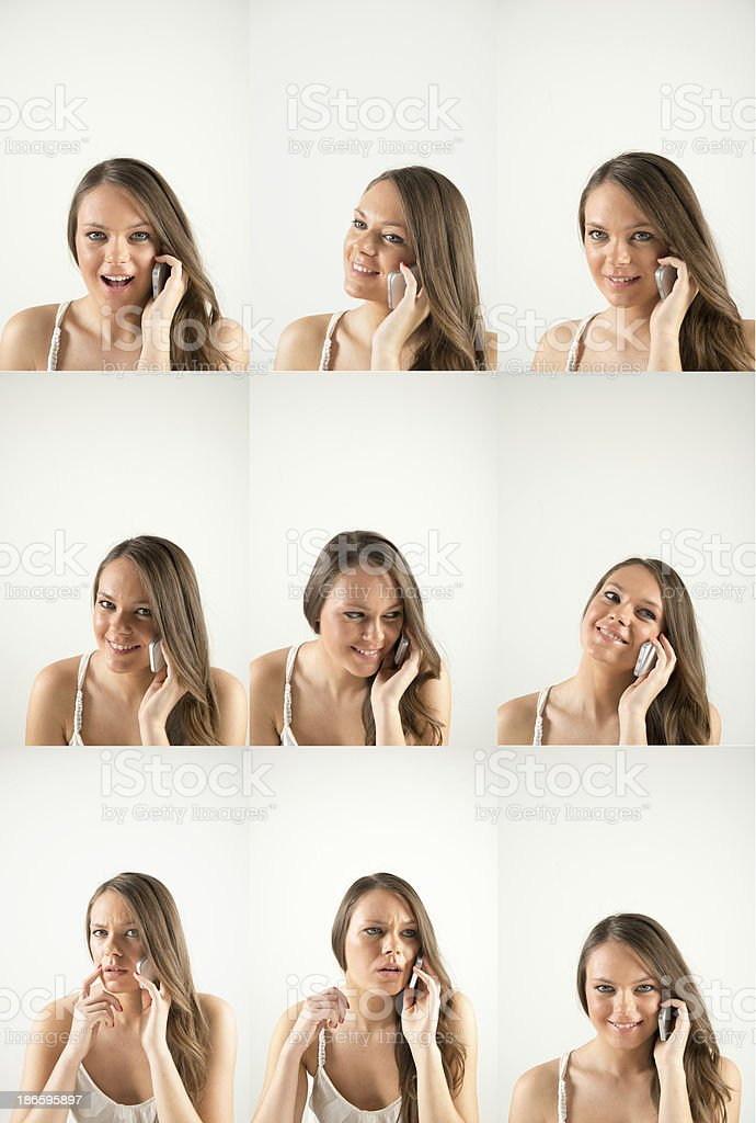 faces royalty-free stock photo
