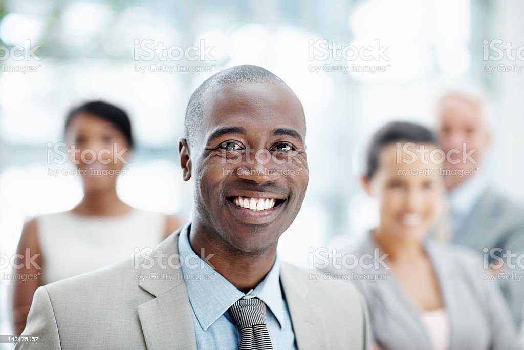 Faces you can trust - Business people stock photo