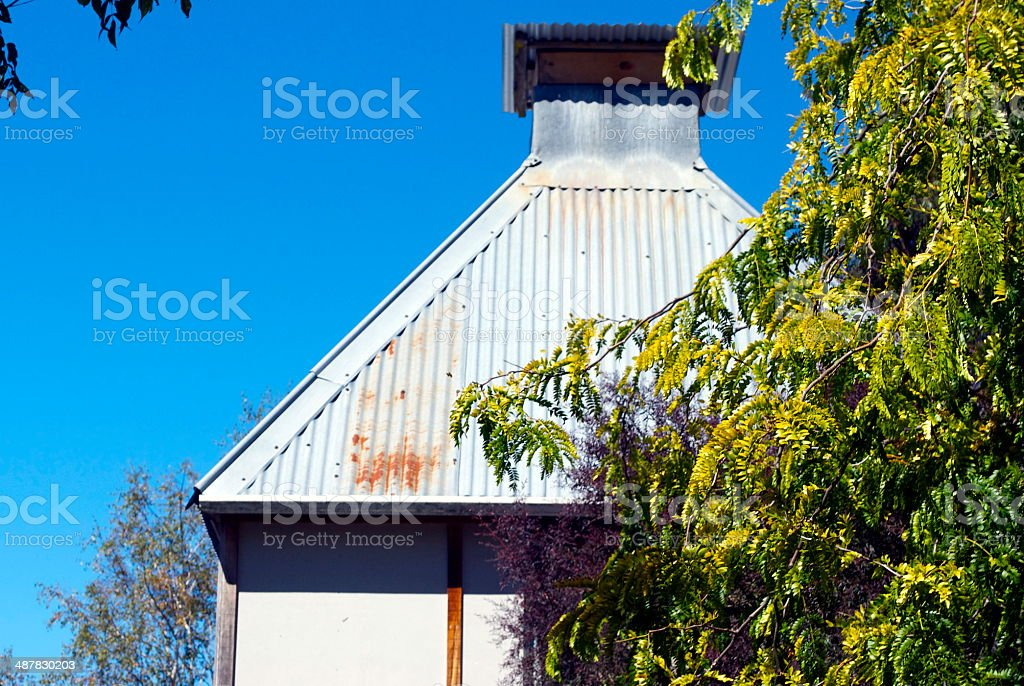 Fachwerk-style Hop Kiln Ventilation Cowl stock photo