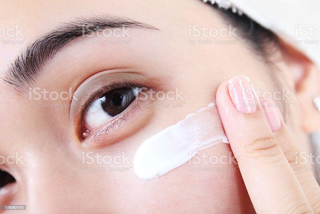 Facial Cosmetic royalty-free stock photo