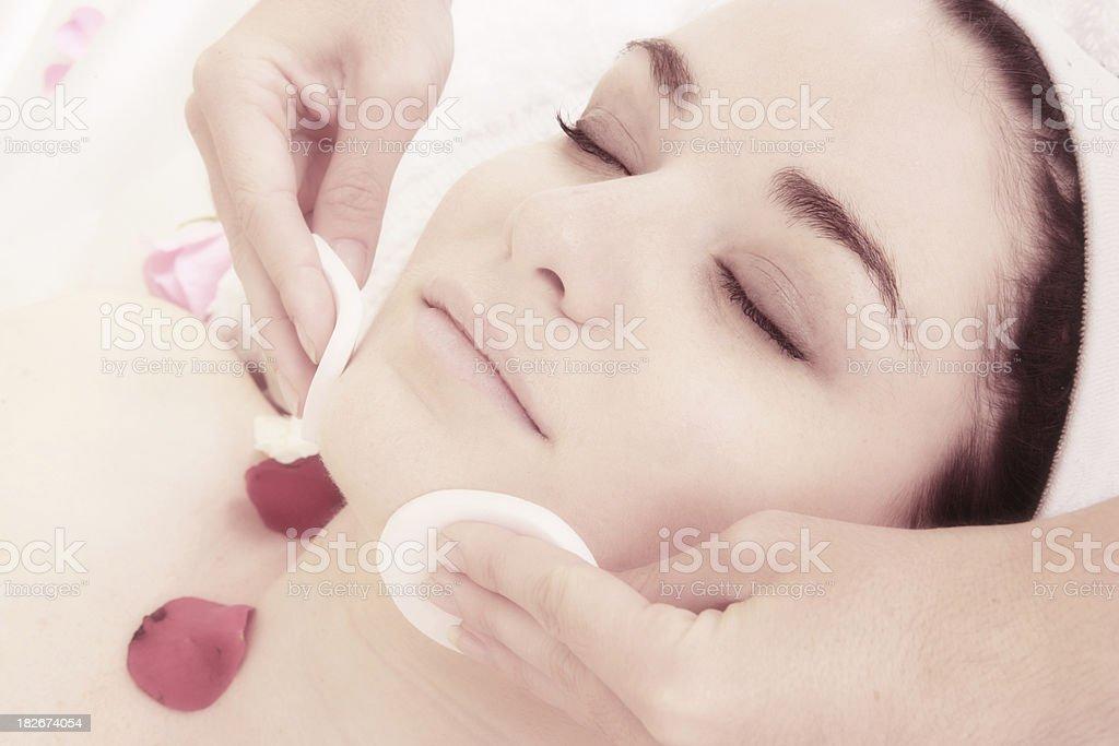 Facial Dream stock photo