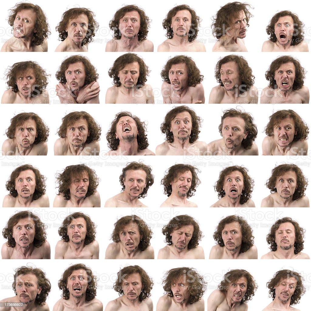 Facial Expressions royalty-free stock photo