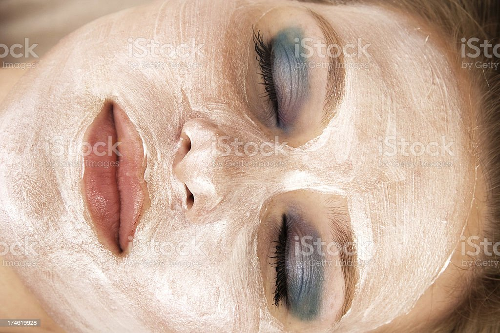 Facial Mask royalty-free stock photo