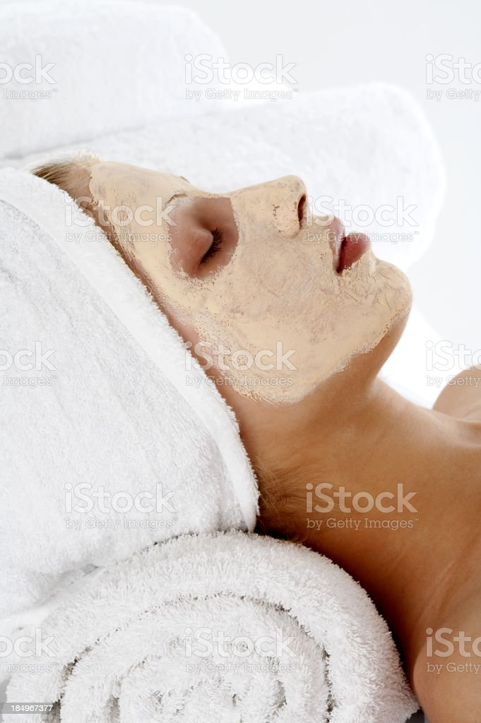 Facial mask royalty-free stock photo
