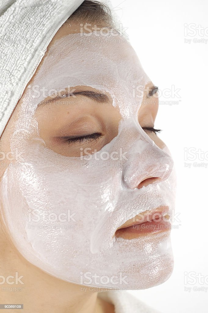 facial mask #16 royalty-free stock photo