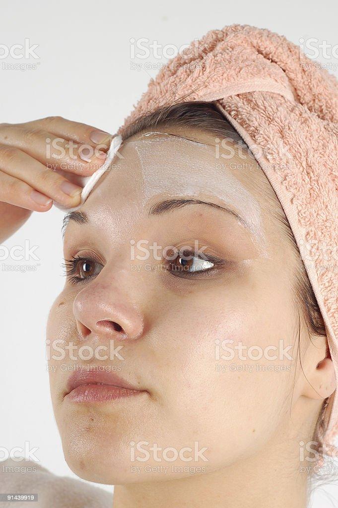 facial mask #16 royalty-free stock photo