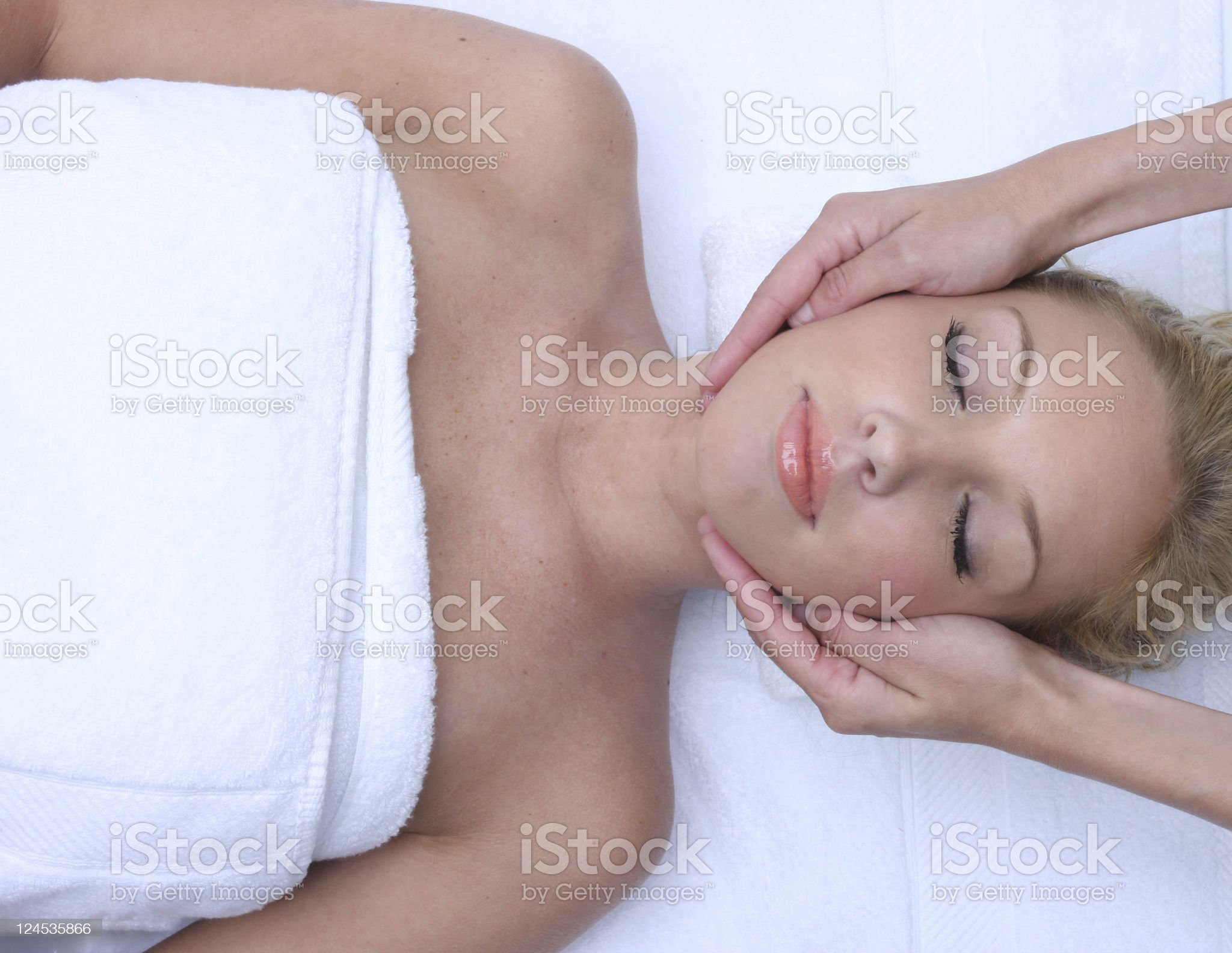 facial royalty-free stock photo