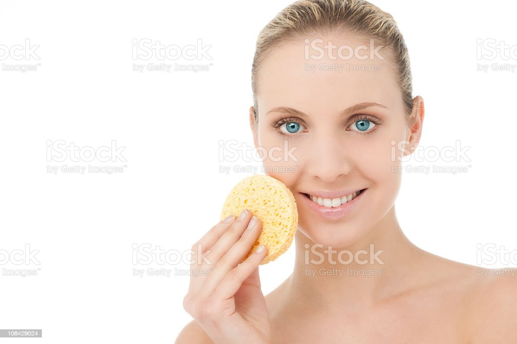 Facial skincare royalty-free stock photo