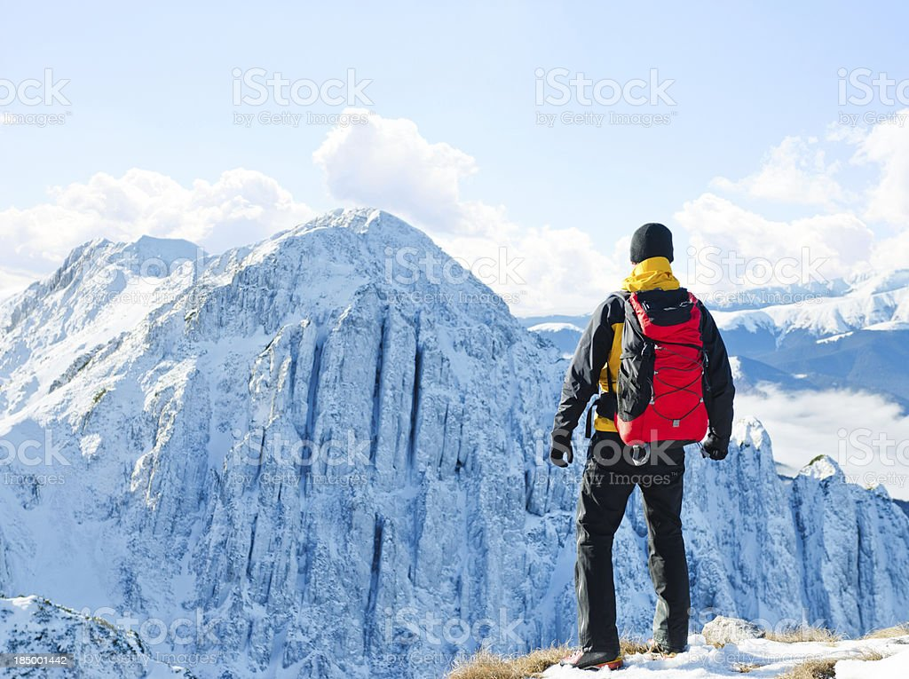 facing the challenge royalty-free stock photo