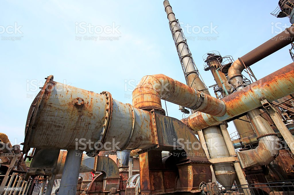factory and equipment stock photo