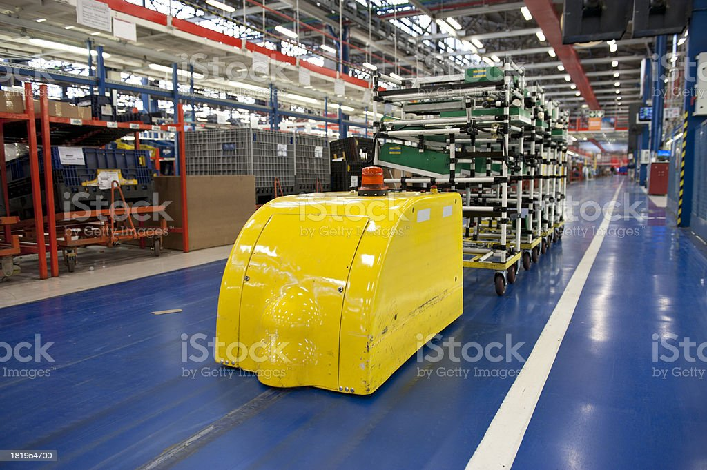 Factory Automation royalty-free stock photo
