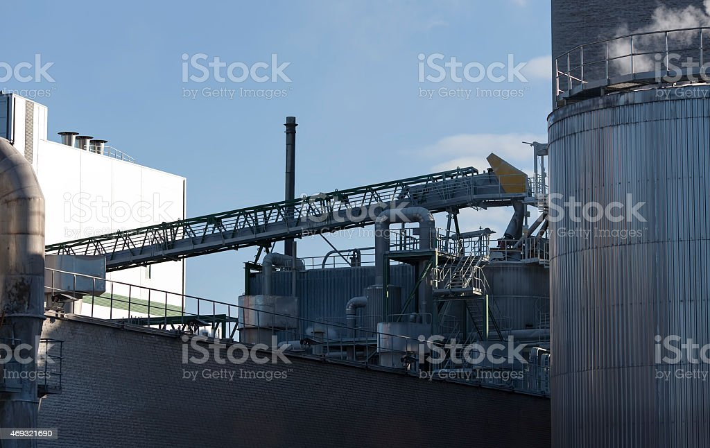 factory building royalty-free stock photo