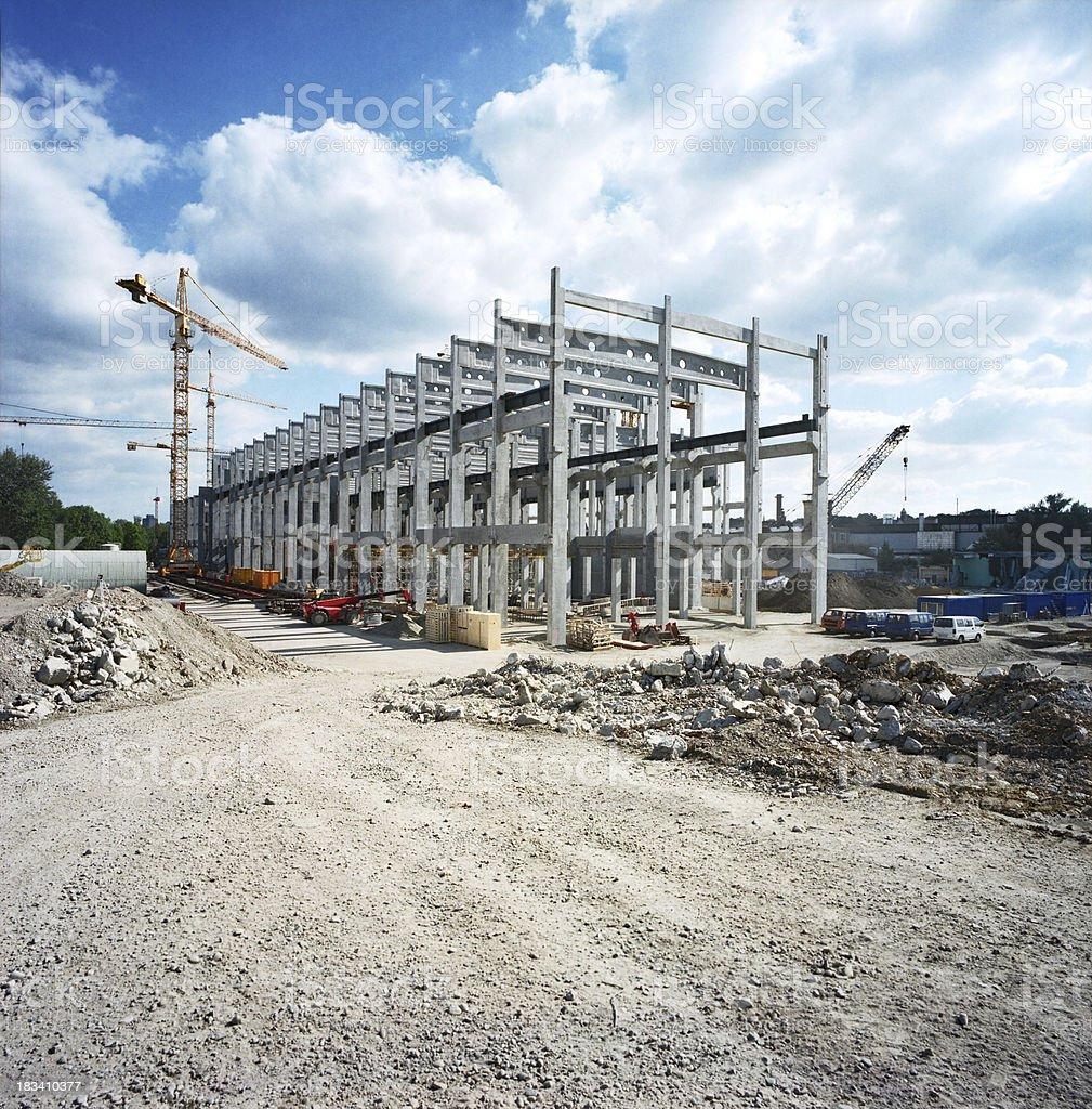 Factory Construction stock photo