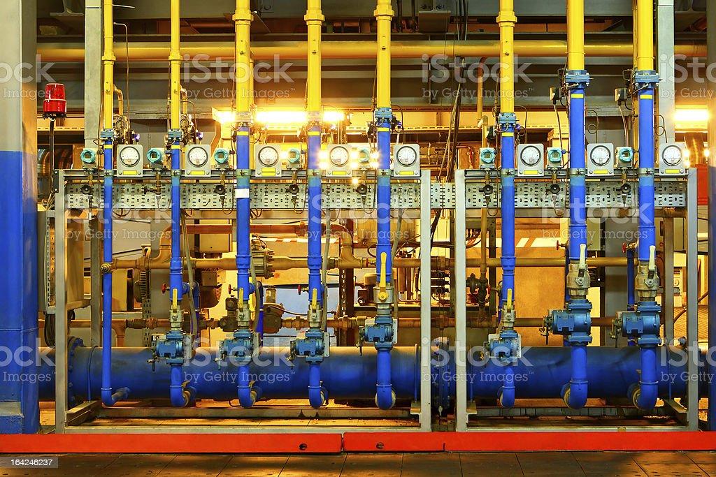 Factory equipment royalty-free stock photo