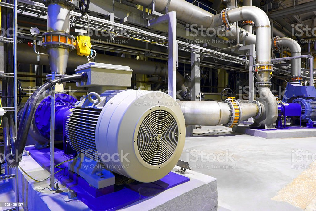 Factory equipment stock photo