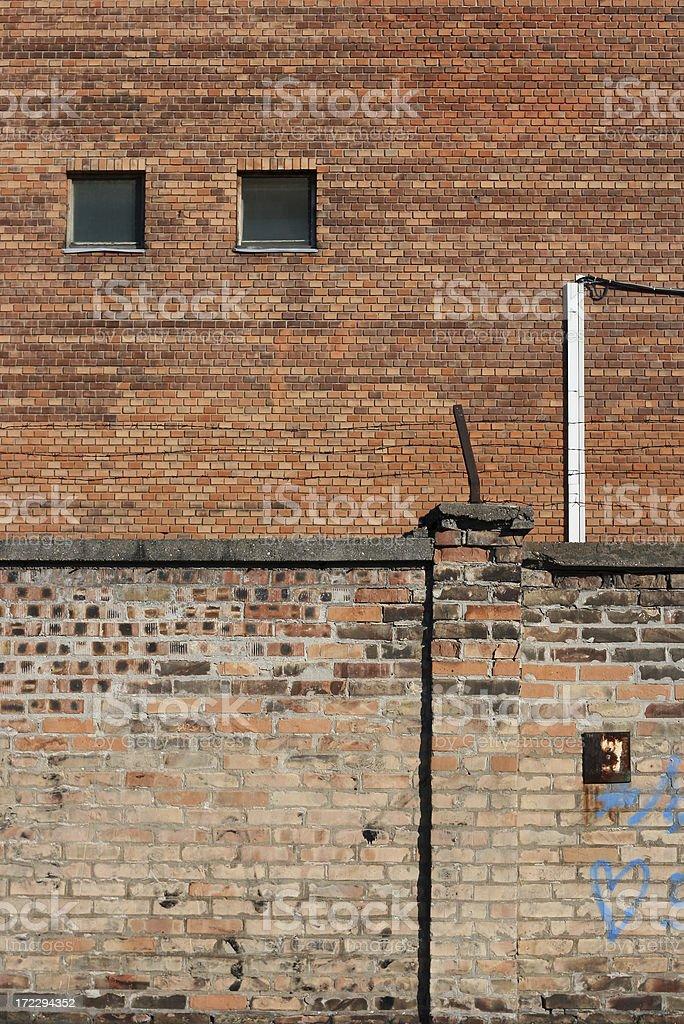 Factory Facade royalty-free stock photo