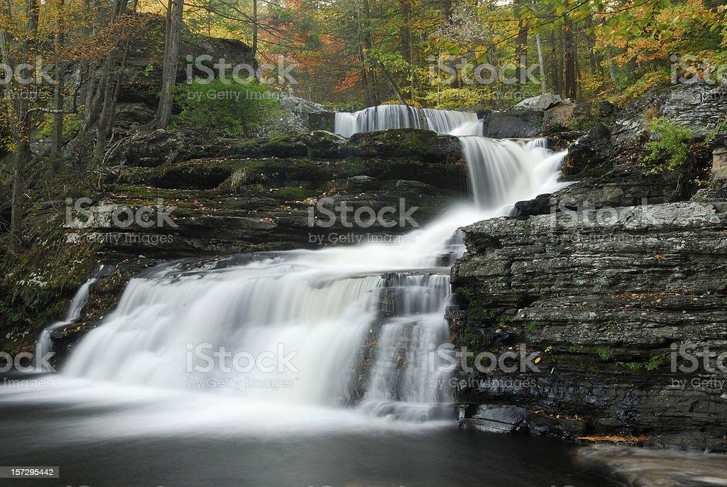 Factory Falls at Delaware Water Gap NR royalty-free stock photo