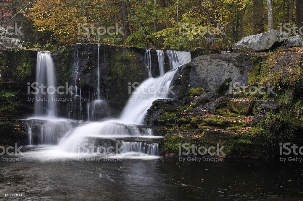 Factory Falls stock photo