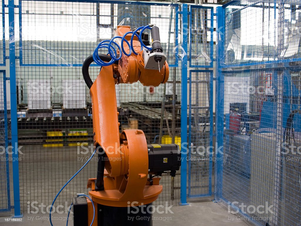 Factory Floor royalty-free stock photo