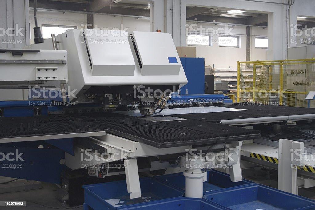 Factory Floor royalty-free stock photo