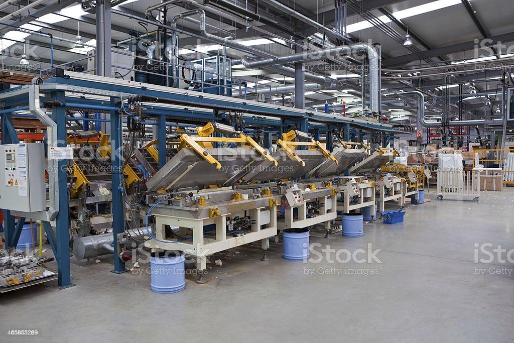 Factory Floor stock photo