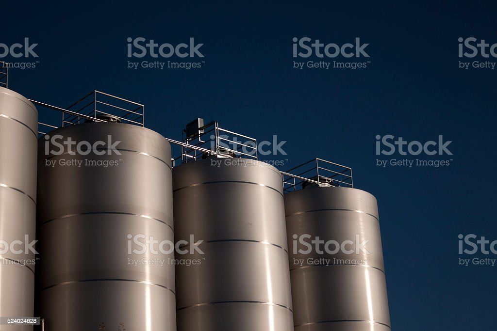 Factory for Industrial Manufacturing stock photo