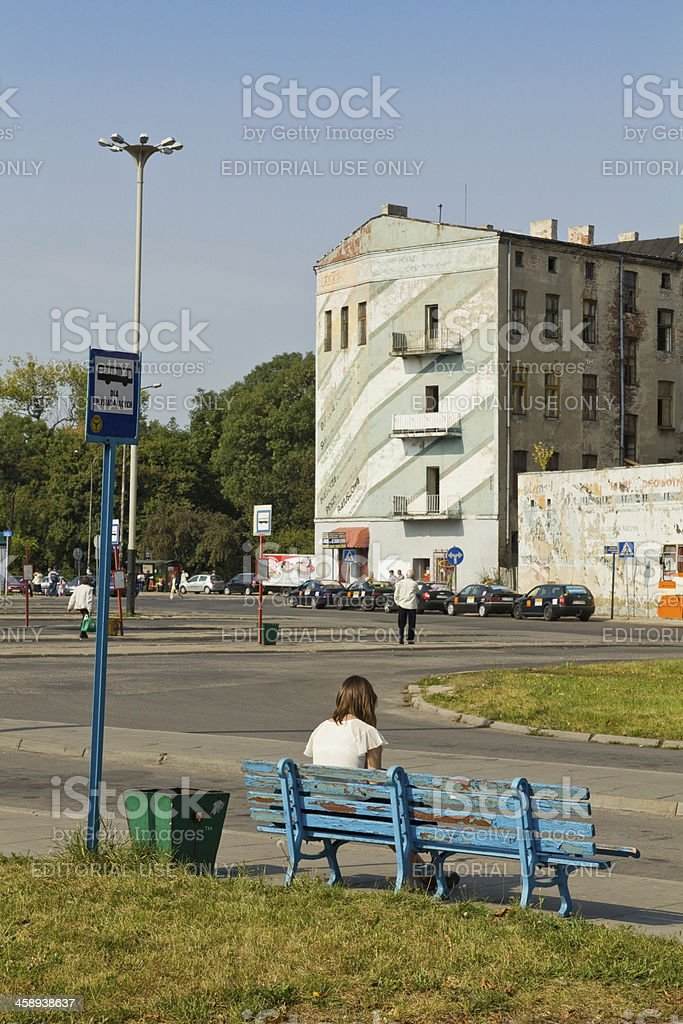 Lodz Fabryczna royalty-free stock photo
