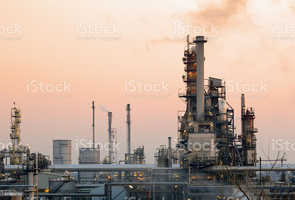 Factory, Industrial plant stock photo