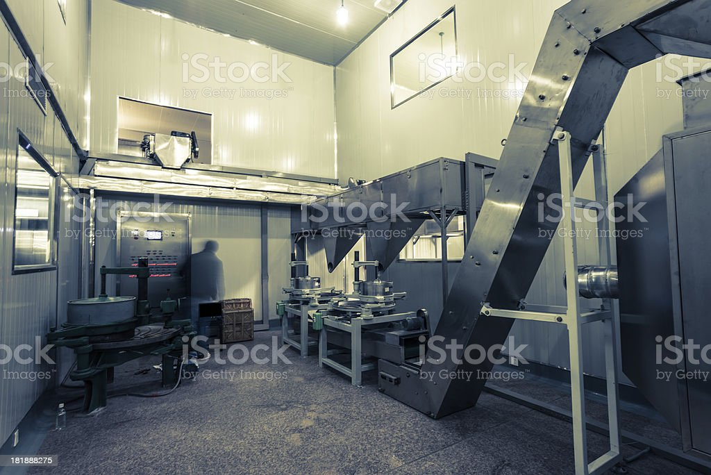 factory interior royalty-free stock photo