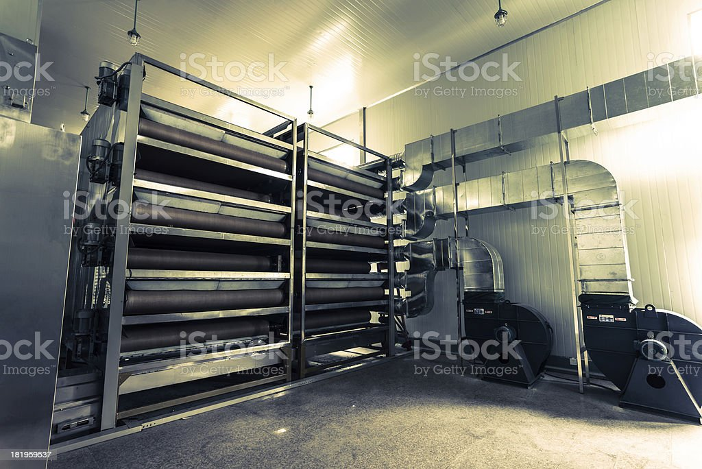 factory interior royalty-free stock photo