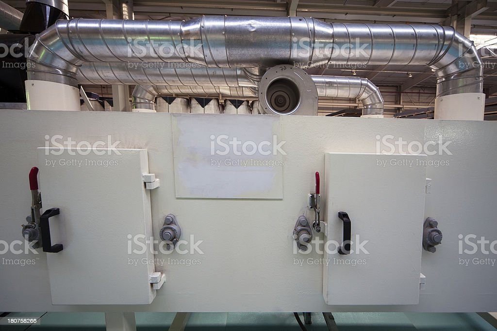 Factory Machine Parts royalty-free stock photo