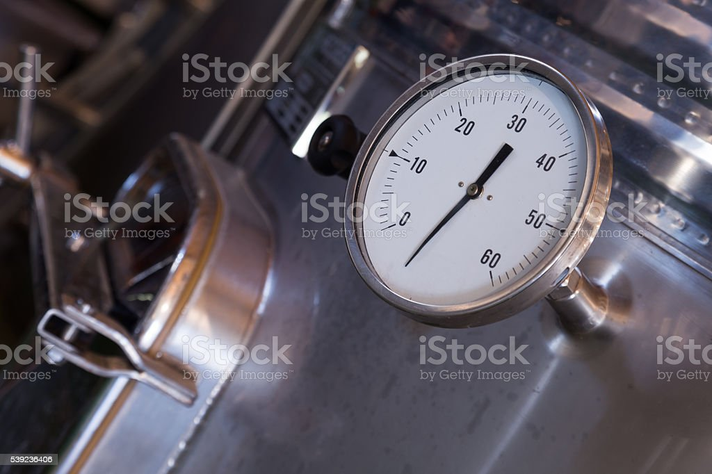 factory machinery closeup stock photo