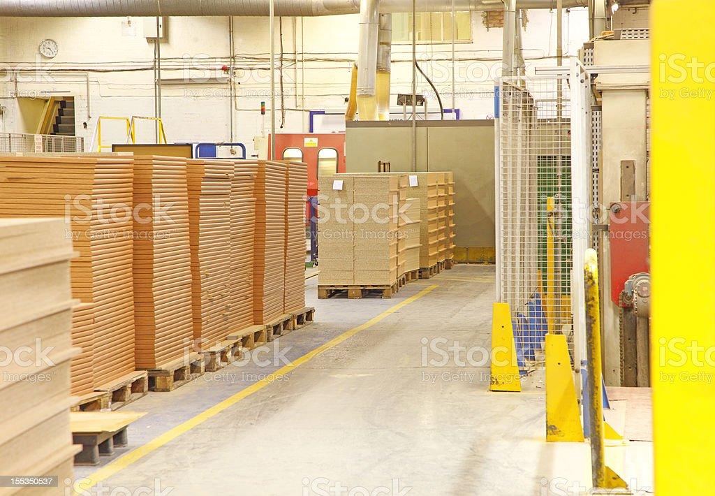 factory making kitchen units royalty-free stock photo