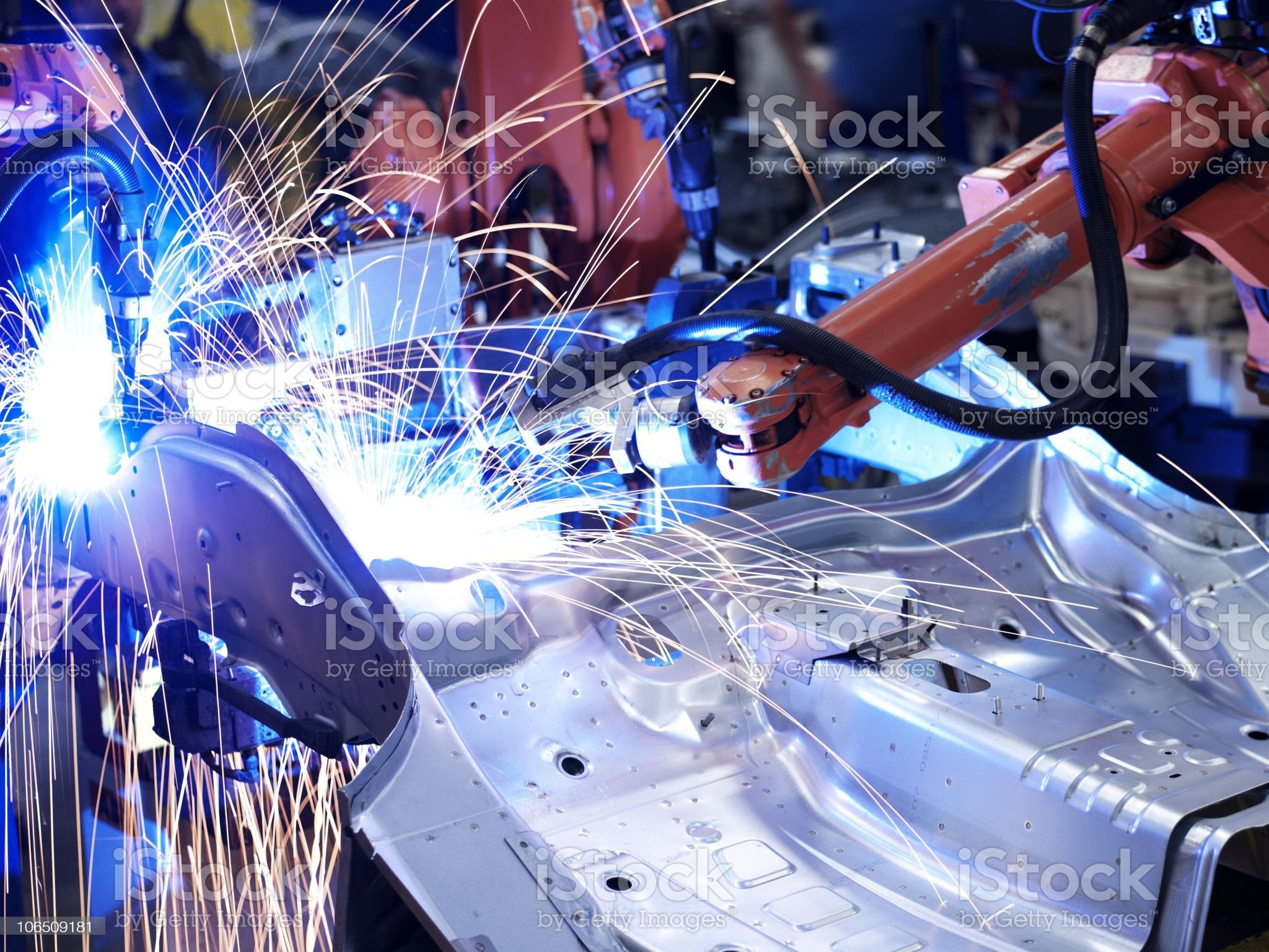factory manufacturing royalty-free stock photo
