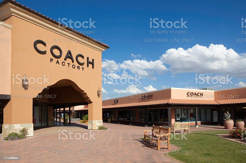 Factory outlet stock photo