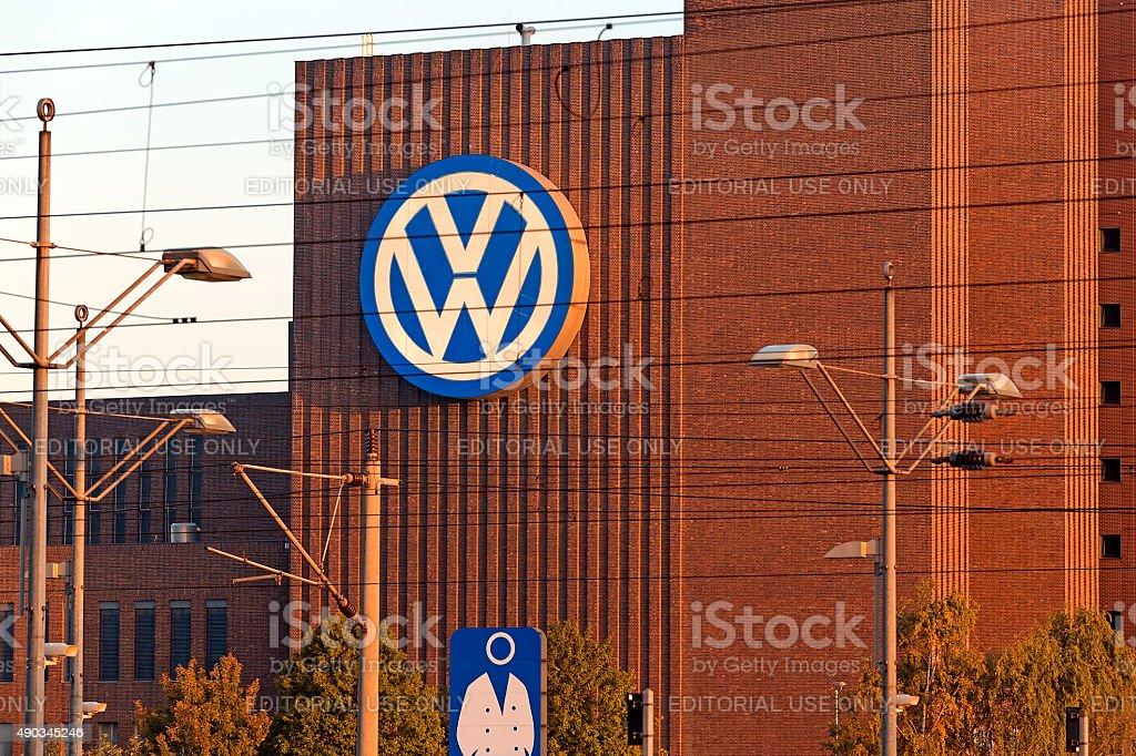 VW 工場 ロイヤリティフリーストックフォト