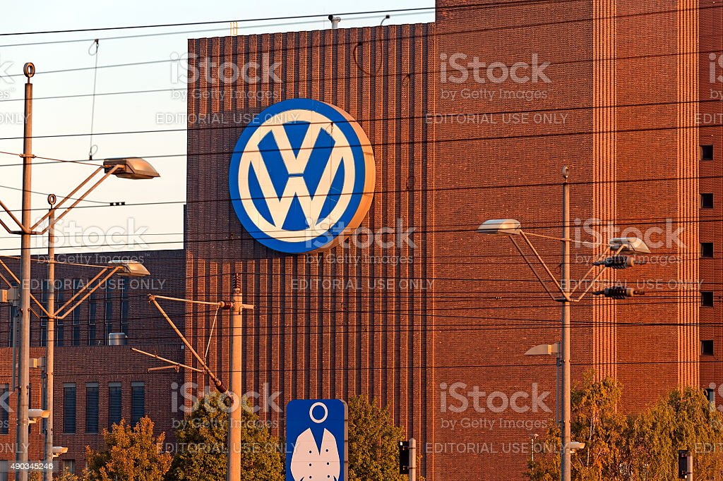 VW Factory stock photo