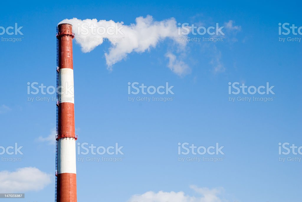 Factory Pipe royalty-free stock photo