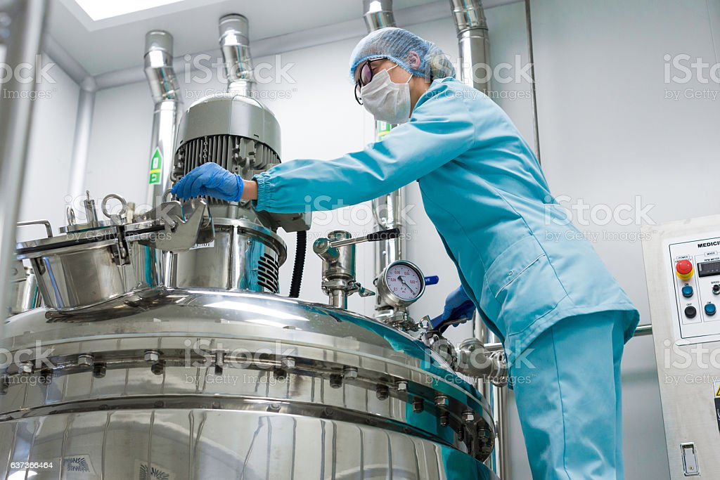 factory production, process, industry stock photo