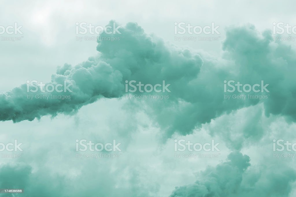 Factory Smoke royalty-free stock photo