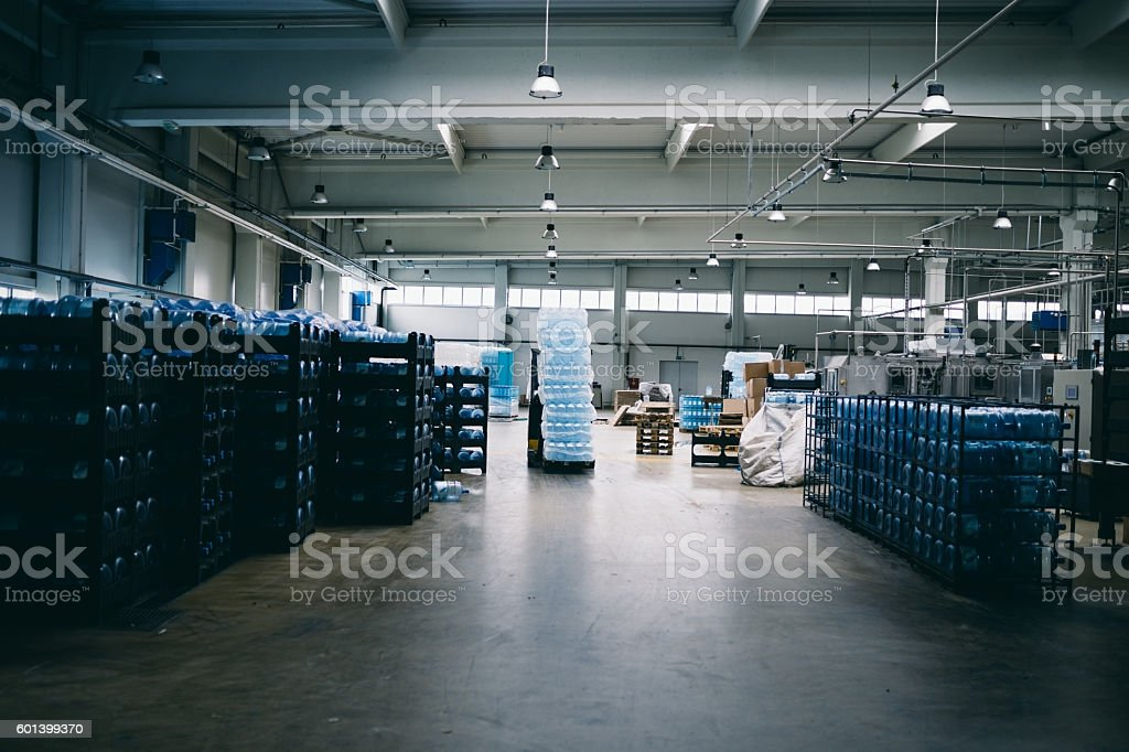 Factory storage stock photo