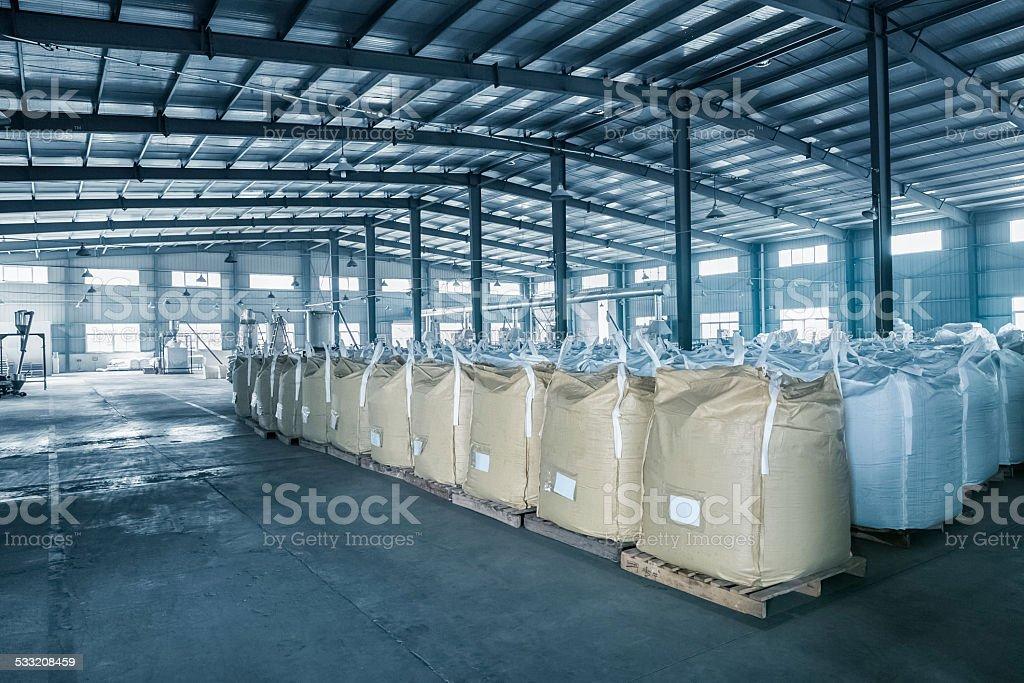 factory warehouse stock photo