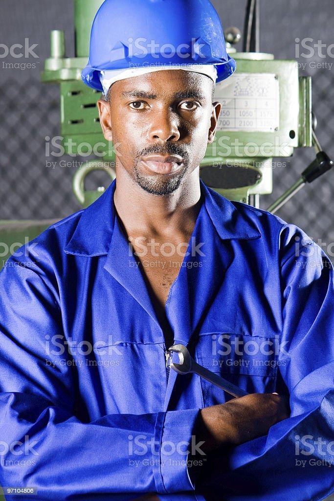 factory woker royalty-free stock photo